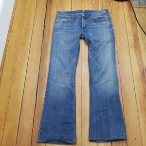 """7 for All Mankind Jeans 28"""" inseam"""
